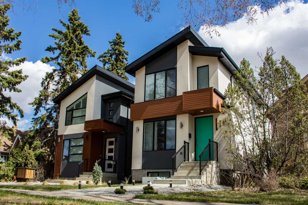 Lux metal siding in Canada