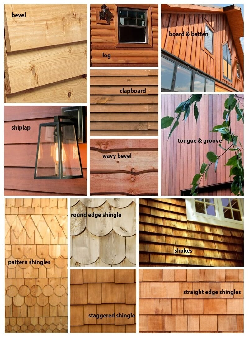 Profiles and Colour Varieties for Wood Siding in Calgary, AB – cost