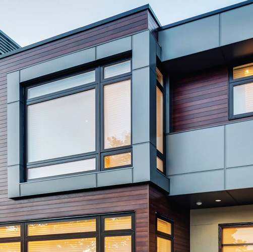 Installing AL-13 siding on house - top contractors for architectural systems